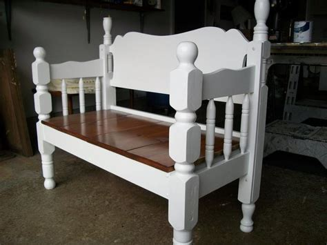 bench made from bed 25 best ideas about bed frame bench on pinterest