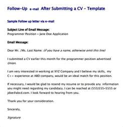 follow up cover letter cover letter follow up email sle durdgereport886 web