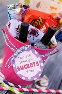 gift ideas for birthday buckets of fun birthday gift idea