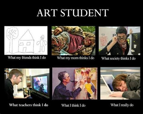 Film Major Meme - 20 more funny art cartoons memes and art quotes