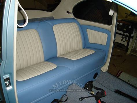 vw seat upholstery midwest auto tops upholstery 1962 vw beetle