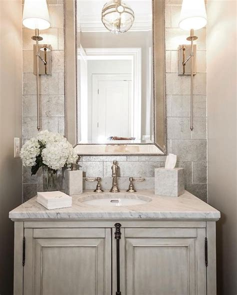 powder room bathroom 35 ways to add texture to your home d 233 cor digsdigs