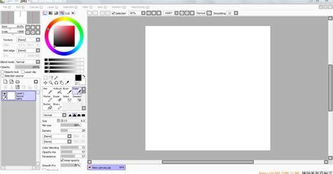 cara paint tool sai xavier cara dasar menggambar dengan paint tool sai