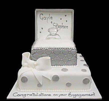 Engagement Wedding Cakes by Engagement Cakes