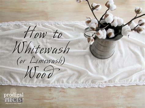 white wash wood whitewashed or limewashed wood prodigal pieces