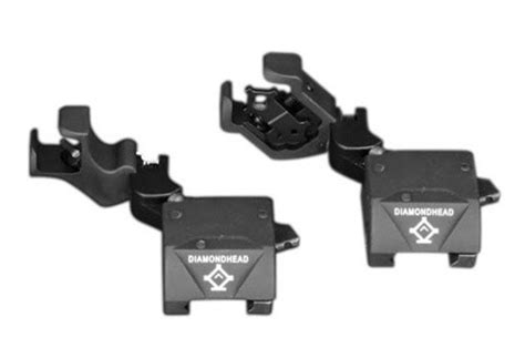 diamondhead d45 swing sights d45 swing sights front and rear gear shop ar15 parts