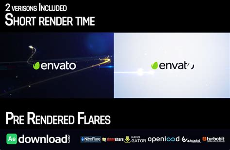 Videohive 2 After Effect Template streak logo reveal 2 free videohive template free after effects template