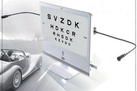 tavola ortottica cso vision chart patente di guida opto medica