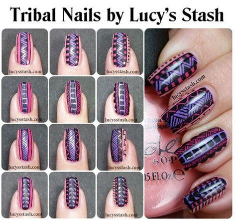 jay nail art tutorial 25 great nail art tutorials for cute and fancy nails