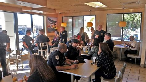 With A Gardena Department Coffee With A Cop