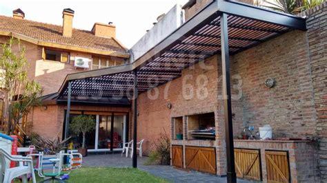 pergolas cocheras techos de policarbonato pergolas aleros techos para
