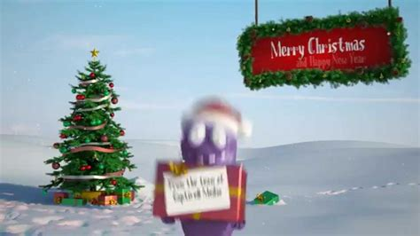 christmas card animation business message video funny bert youtube