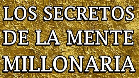 los secretos de la 8479029412 los secretos de la mente millonaria audiolibro completo t harv eker youtube