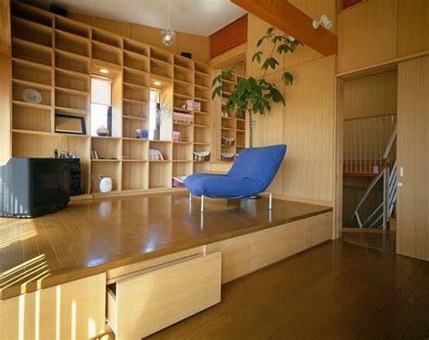 Platform Living Room by Michael Freeman Photography Hanazawa