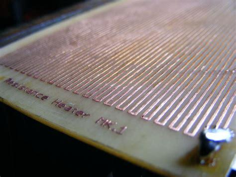 do resistors give heat pcb heater diy joule heating