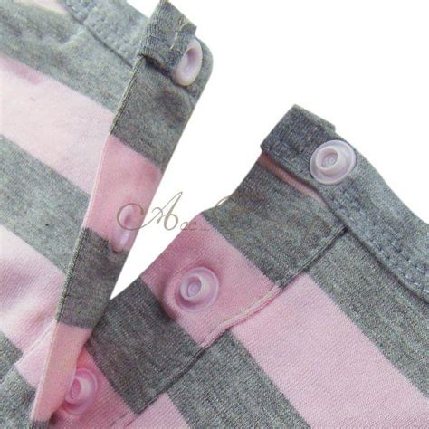 18443 Pink Relax N Casual sleeve striped top dress casual cotton