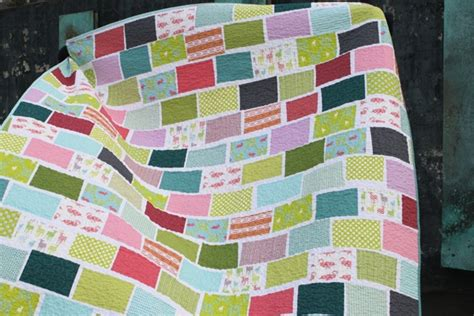 Brick Pattern Quilt by Brick Pattern Quilts