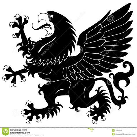 grifo heraldica grifo her 225 ldico ereto