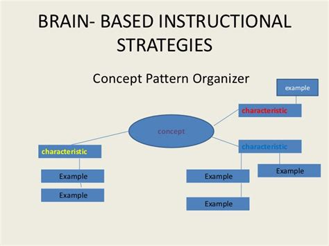 pattern maker teaching strategy parts of the brain graphic organizer image collections