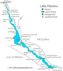 arizona map lake havasu lake havasu fishing