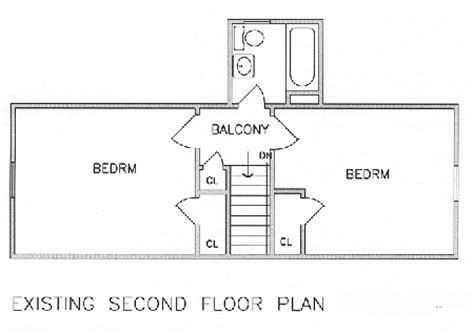 second floor addition floor plans add a second floor cap04 5179 the house designers