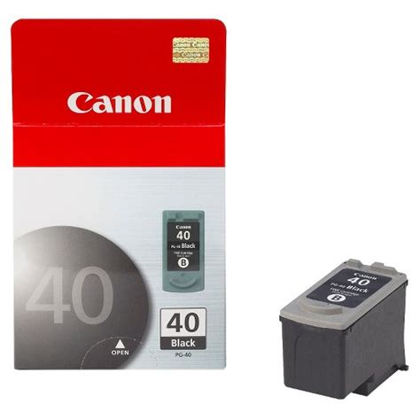 Terlaris Cartrigde Canon 40 Black canon pg 40 ink cartridge black target