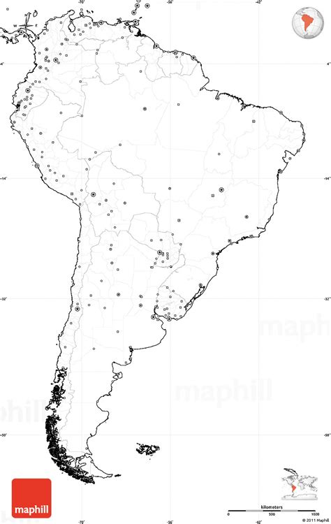 blank map of america with borders map of south america unlabeled coloring europe