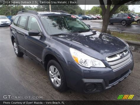 subaru outback carbide gray carbide gray metallic 2014 subaru outback 2 5i black