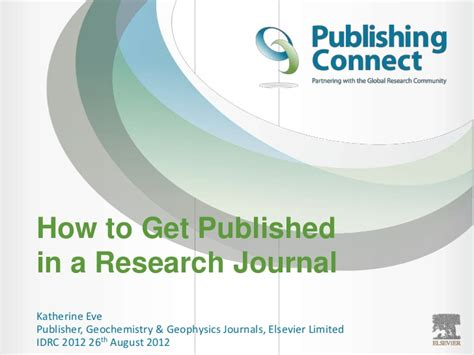 how to write publish a scientific paper pdf elsevier author workshop how to write a scientific paper