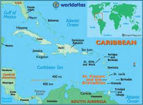 map st vincent and the grenadines st vincent and the grenadines map geography of st vincent and the grenadines map of st