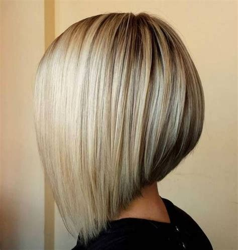 hairstyles with bangs highlights and low lights 40 banging blonde bob and blonde lob hairstyles angled