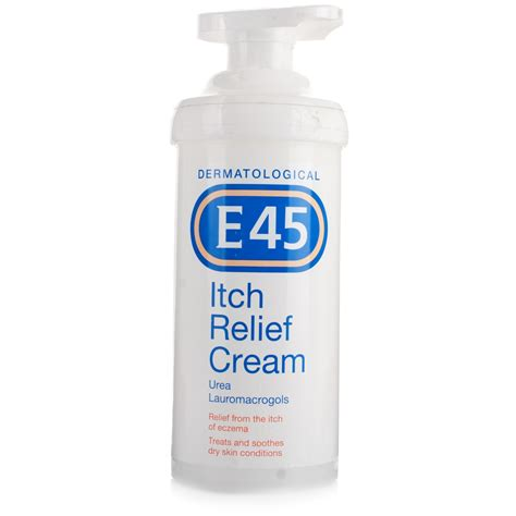 shoo for itching e45 itch relief 500g skin care chemist direct