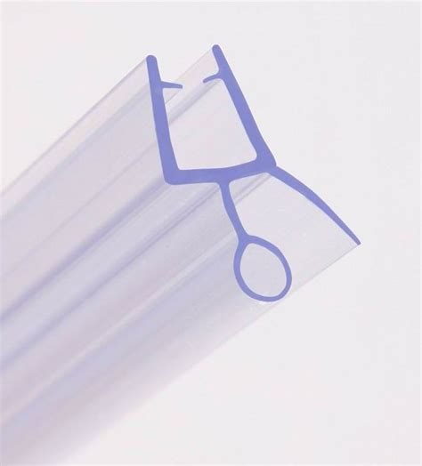 Bath Shower Screen Rubber Plastic Seal For 6 8mm Curved Shower Seals For Curved Glass Doors