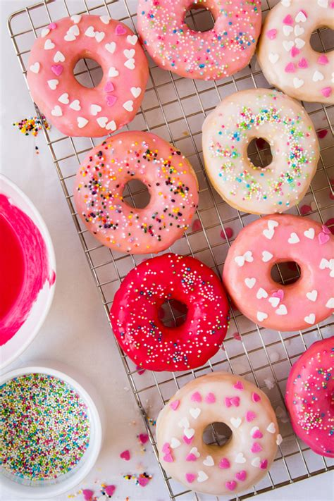 colorful donuts how to make colorful donut glaze baking desserts