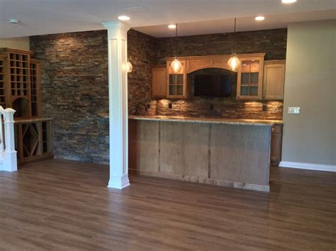 vinyl plank flooring basement home design