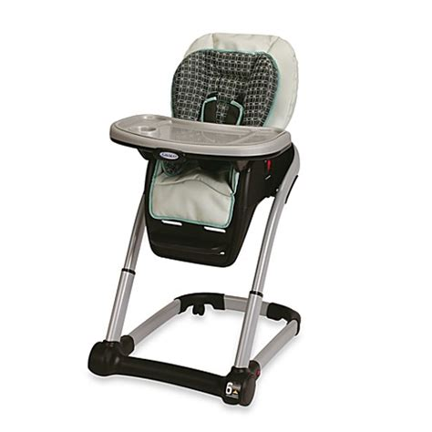 graco blossom 4 in 1 seating system graco 174 blossom dlx 4 in 1 high chair seating system in