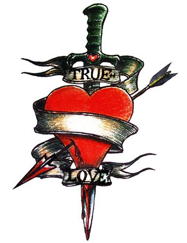 true at heart tattoo true tattooforaweek temporary tattoos largest