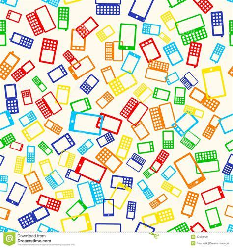 telephone pattern js seamless pattern phone stock photo image 37683220