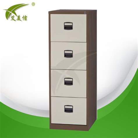 Lemari Plastik Loker harga pabrik 4 laci plastik lemari arsip furniture logam
