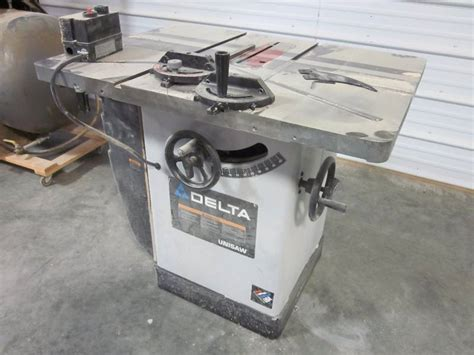 professional woodwork supplies delta unisaw professional woodworking equipment auction