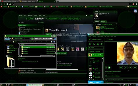 themes for windows 7 matrix windows 7 8 10 virtual matrix theme by xfluing on