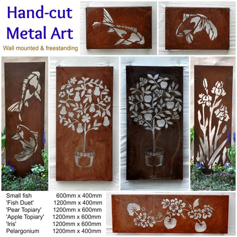 backyard wall art australian metal artwork garden art metal wall art