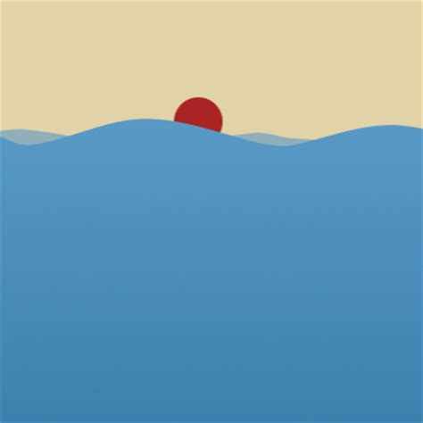 using shape layers to create a vector water animation