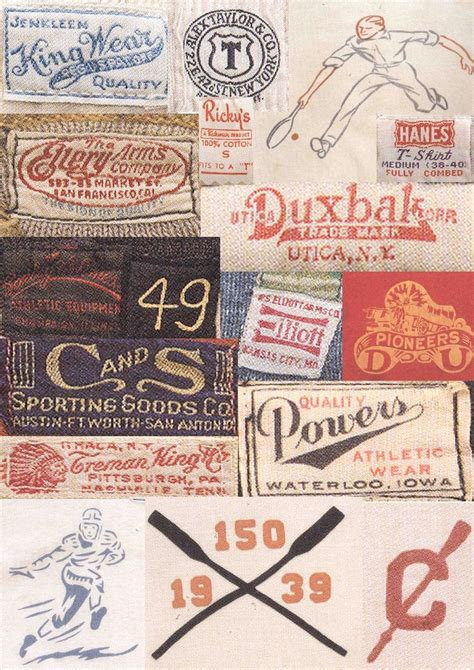 sportswear vintage clothing trims