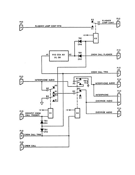 aviation intercom wiring diagram helicopter diagram
