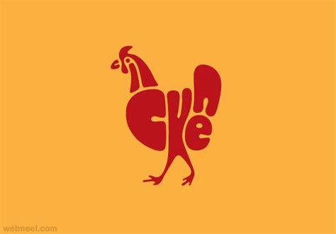 Letter Chicken Chicken Typography Design 10 Preview