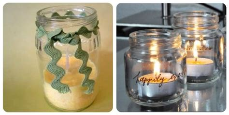 baby food jar creations food jar candle decorations and