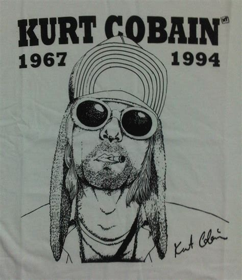 Kaos Distro Kurt Cobain rich co kaos nirvana kurt cobain mad tailor distro