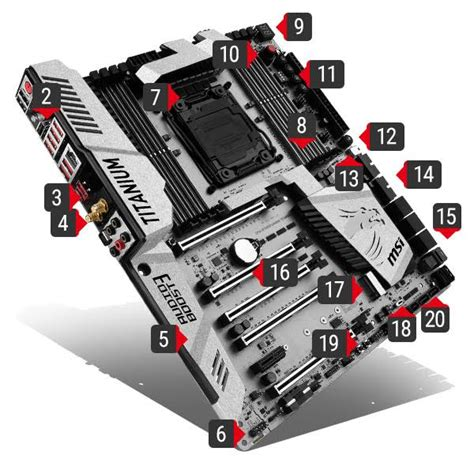 Msi X99a Xpower Gaming Titanium Intel Socket 2011v3 msi launches its new x99 and z170 titanium motherboards