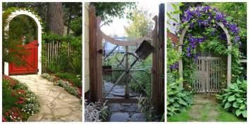 backyard gate designs glamorous garden gates for a beautiful backyard
